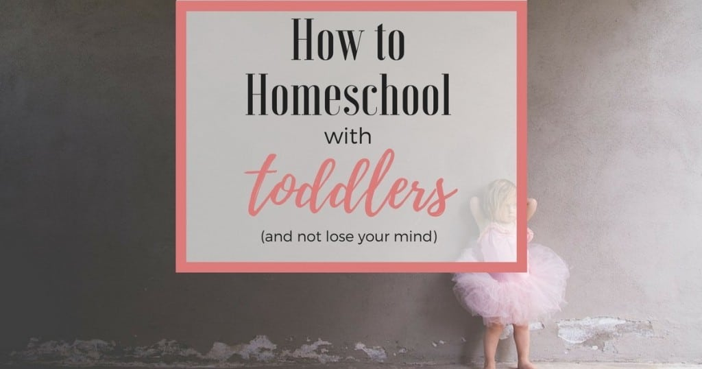 Learn simple strategies to homeschool with toddlers and preschoolers! Encourage creativity, family realtionships, and let go of perfectionism!