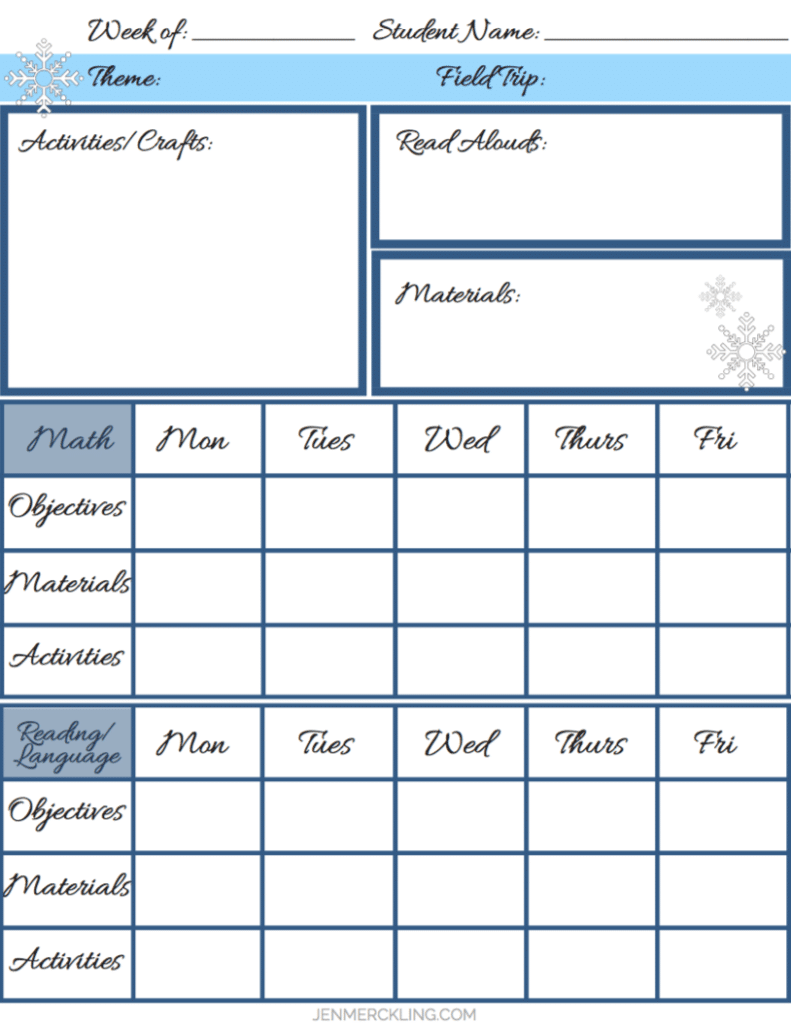 After 14 years, I've learned some simple tips for getting my home and homeschool organized, and I've created a planner to help you get organized too! Here is my Pre-K through 2nd Grade Lesson Planning Page!