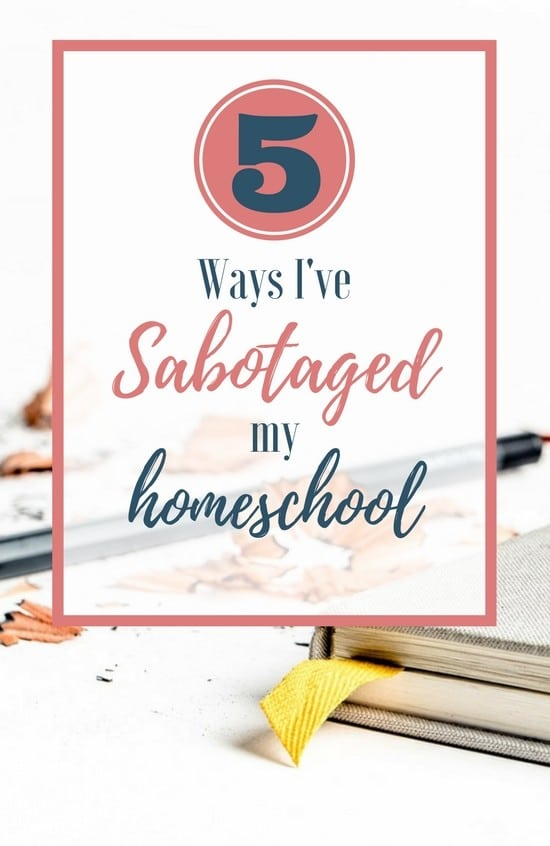 Homeschooling can be hard! But sometimes I've made it harder than it needed to be--sharing some lessons I've learned after 14 years!