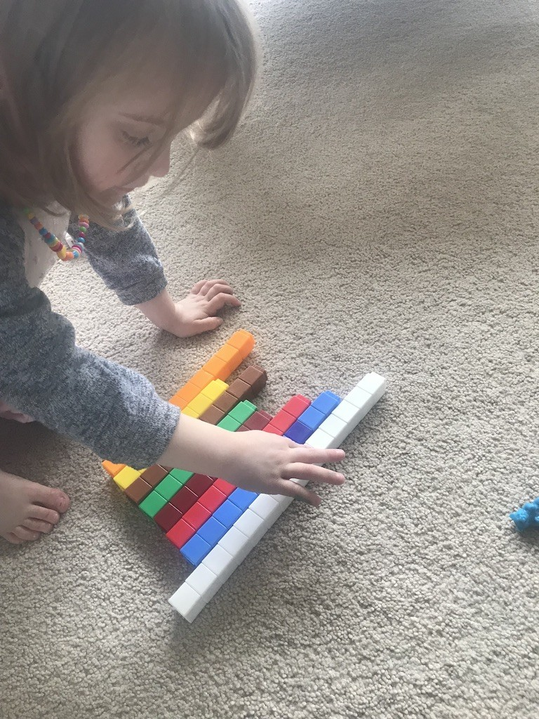 Teaching math with manipulatives helps kids understand math concepts and build a strong foundation in number sense! Plus using math manipulatives is fun! Here are my top 10 favorite math manipulatives! I've used them countless times while homeschooling my own children and as a classroom teacher!