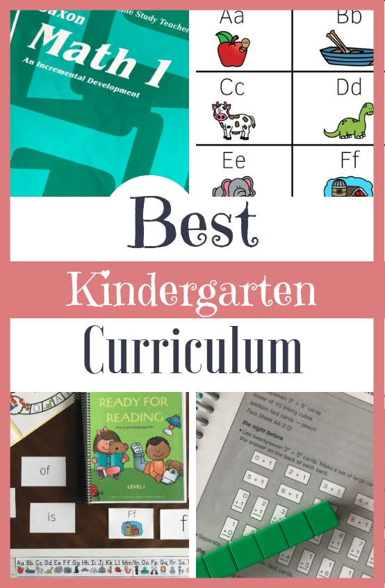 Collection and Review of the Best Homeschool Kindergarten Curriculum