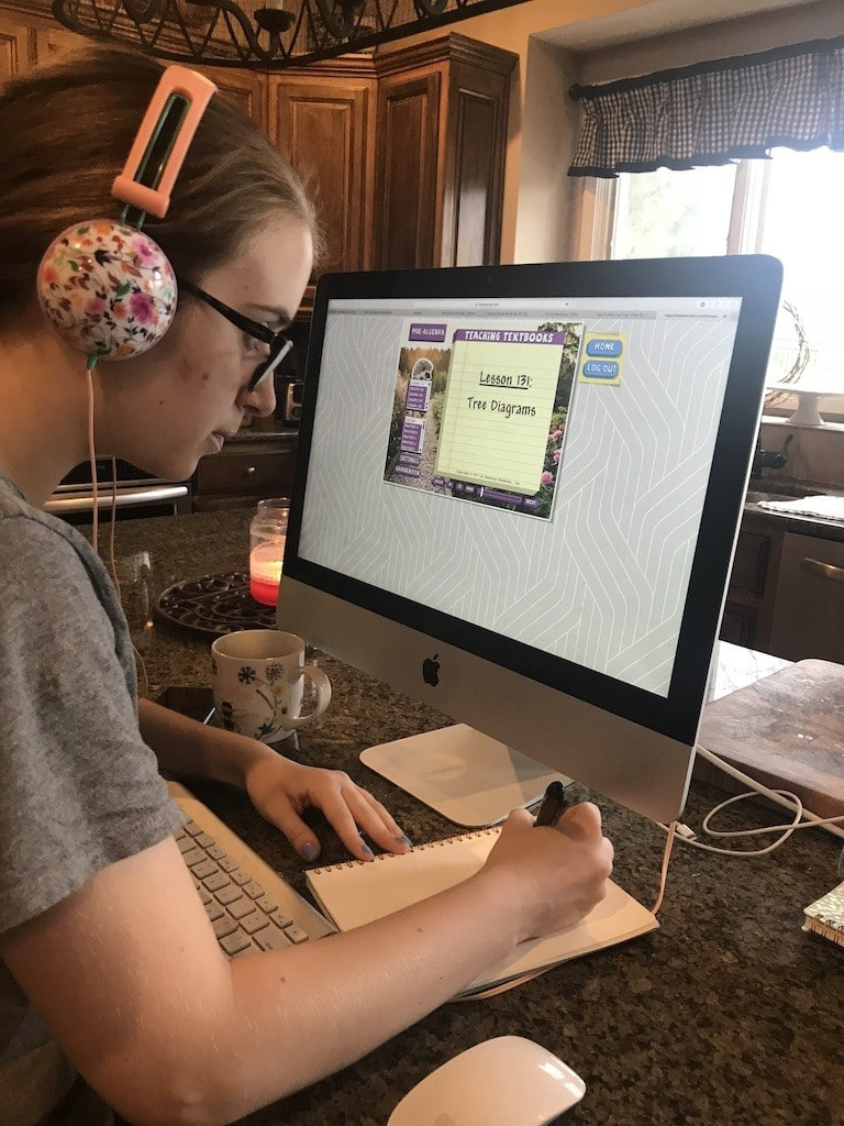 Let's talk homeschooling high school! Here are my homeschool 9th grade curriculum choices--old favorites and new curriculum picks! (Here is Teaching Textbooks!)