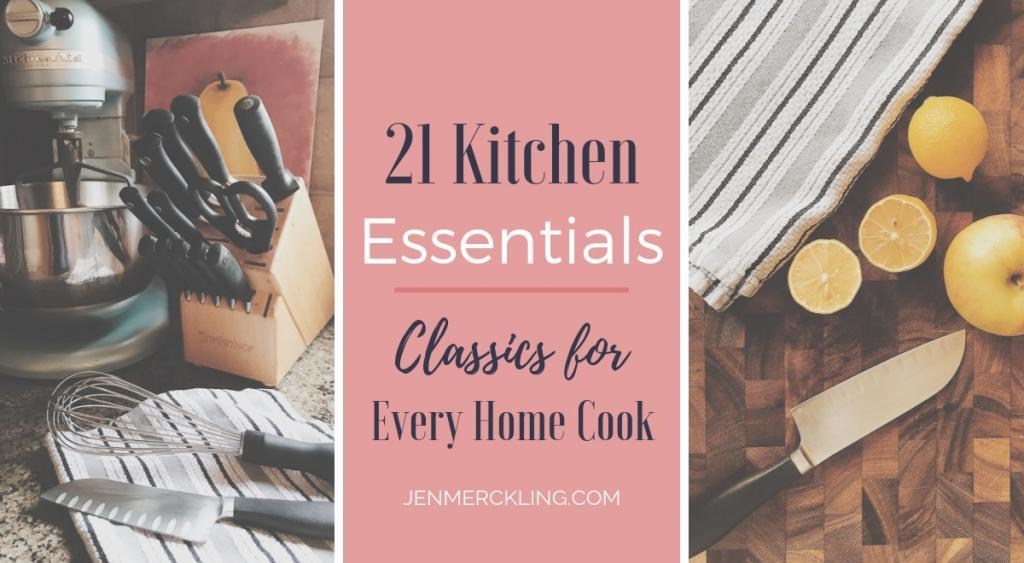 After 21 years in the kitchen, I'm sharing my 21 kitchen essentials. These are the classic tools every home cook needs to make cooking and baking a joy!