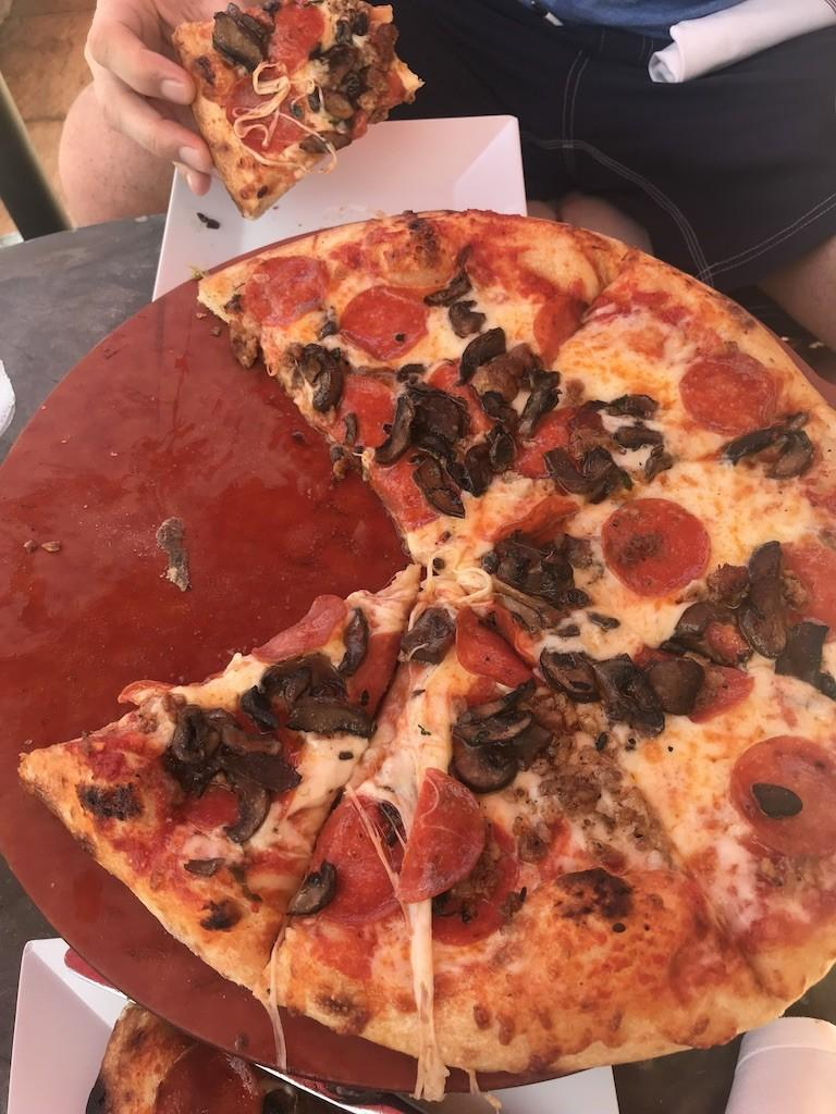 Pizza at 400 Pazzi's at the JW Marriott Marco Island