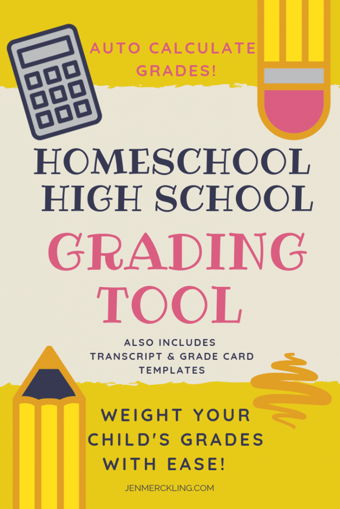Cover of Homeschool High School Grading Tool