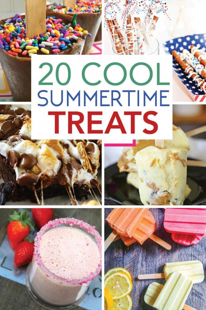 Collection of Summertime Treats