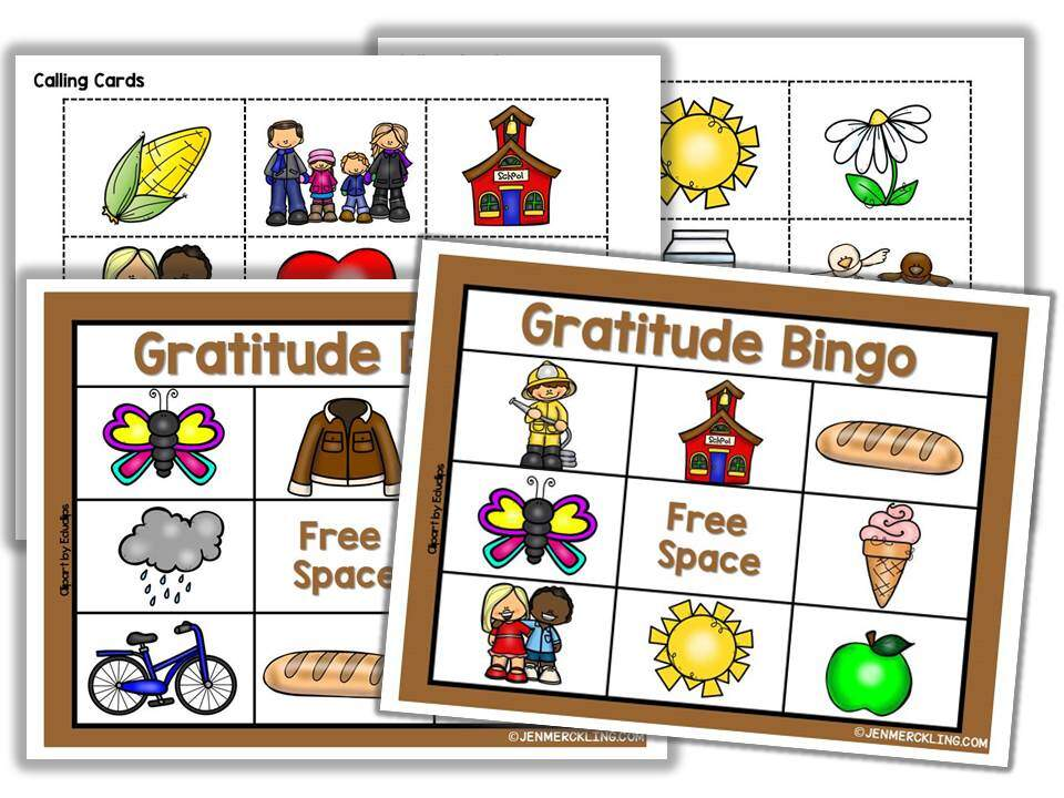 Get ready for Thanksgiving with this super sweet Gratitude Bingo Game! Help your little ones build the habit of gratitude and thankfulness! A perfect Thanksgiving Game for your kids! #thanksgiving #game #bingo #gratitude #thankfulness #preschool #freebie
