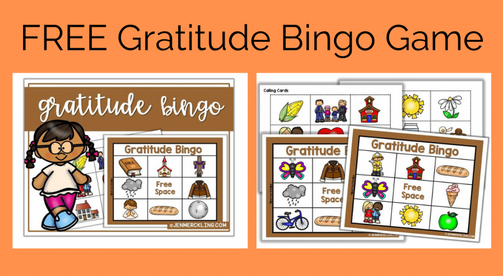 Get ready for Thanksgiving with this super sweet Gratitude Bingo Game! Help your little ones build the habit of gratitude and thankfulness!