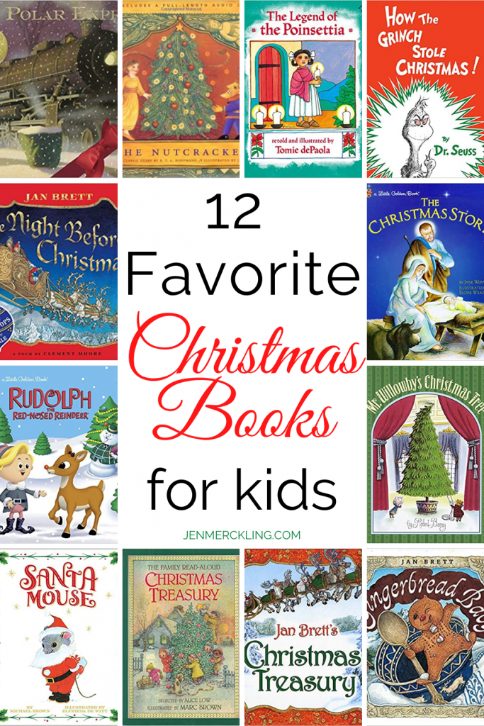 12 Favorite Christmas Books for Kids